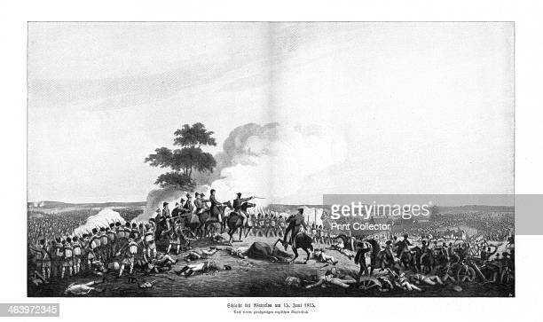 Waterloo Campaign 15 June 1815 The Battle of Waterloo was fought between the French led by Napoleon and the British led by the Duke of Wellington