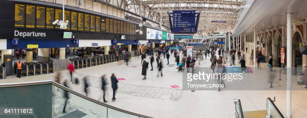waterloo station, london - waterloo railway station london stock pictures, royalty-free photos & images
