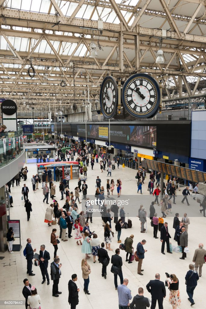 Waterloo Station : Stock Photo