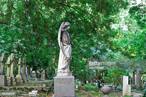 waterlow park, highgate cemetery - highgate stock pictures, royalty-free photos & images