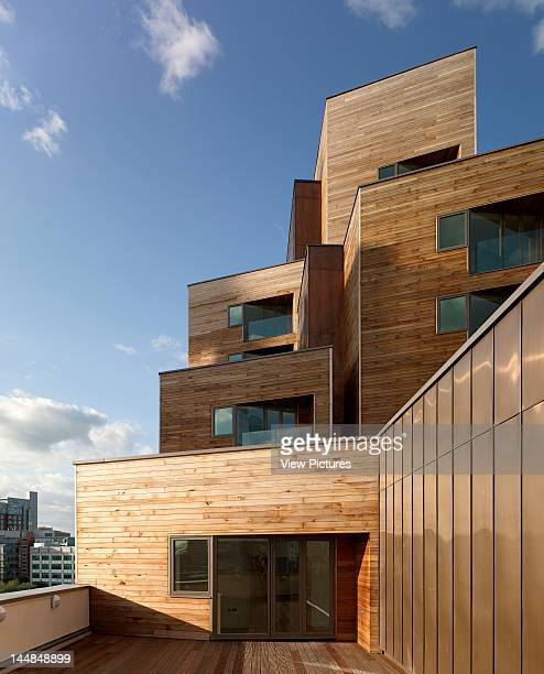 Waterman'S Place Granary Wharf Leeds West Yorkshire United Kingdom Architect Czwg WatermanS Place Granary Wharf Leeds Czwg Timber Balcony Planes...