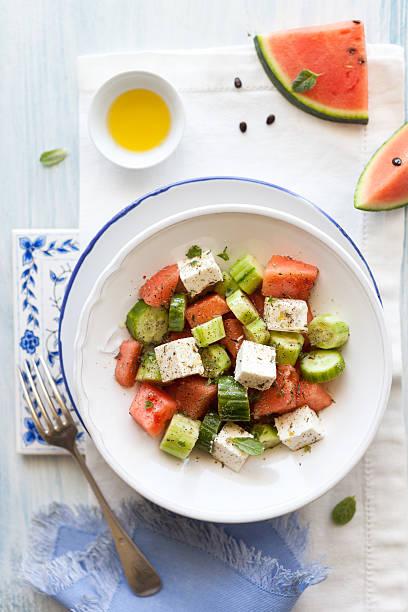 Watermelon Feta Salad Wall Art