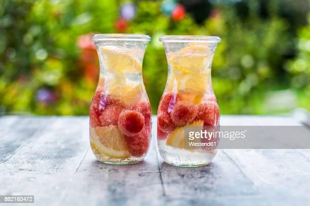 Watermelon lemon detox water