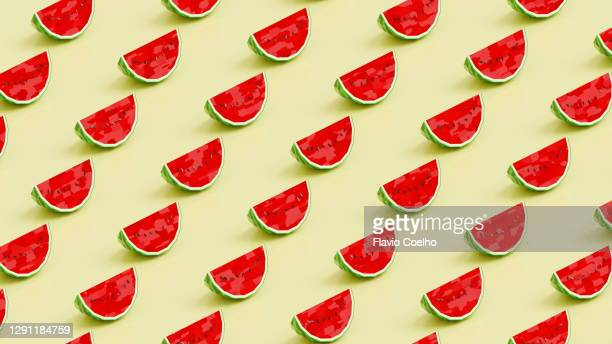 watermelon low poly pattern background - watermelon stock pictures, royalty-free photos & images