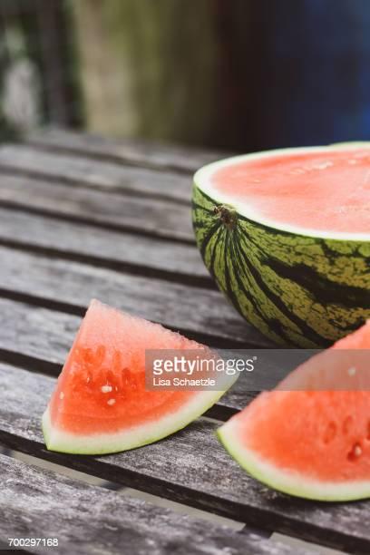 watermelon - das leben zu hause stock pictures, royalty-free photos & images
