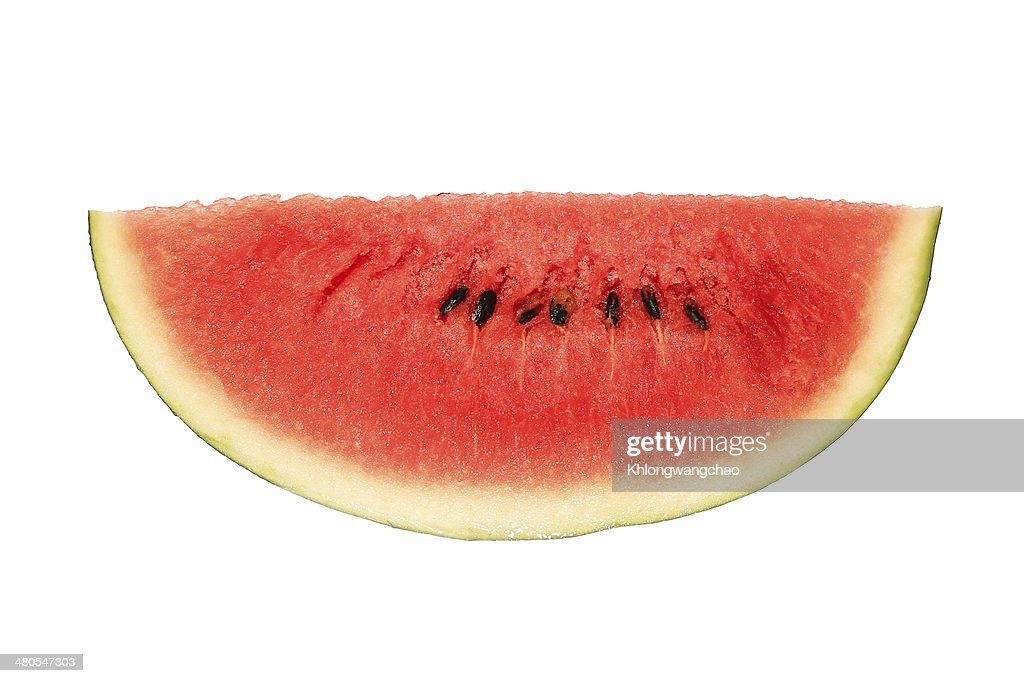 Fetta di anguria : Foto stock