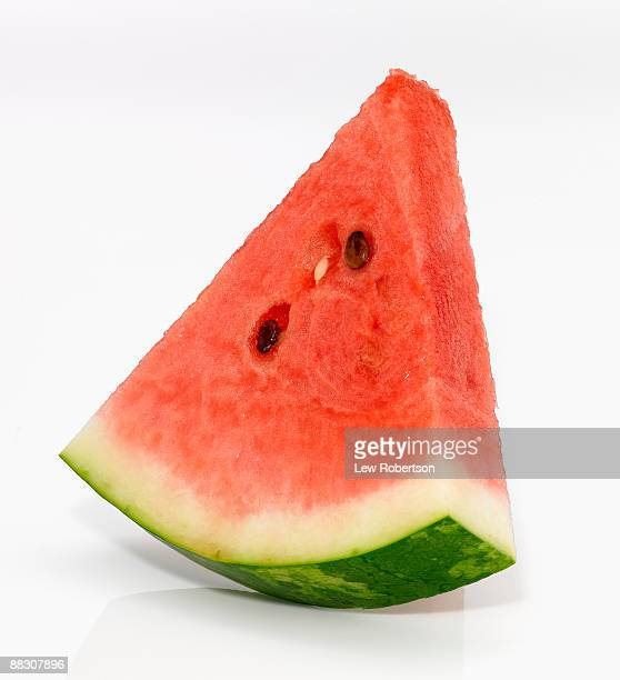 watermelon slice - slice of food stock pictures, royalty-free photos & images