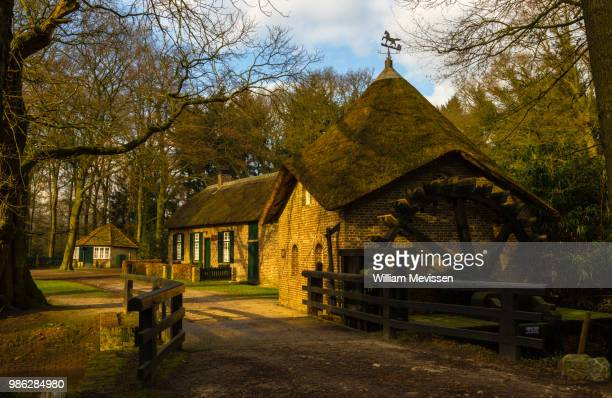 watermill 'rosmolen' - william mevissen stock pictures, royalty-free photos & images