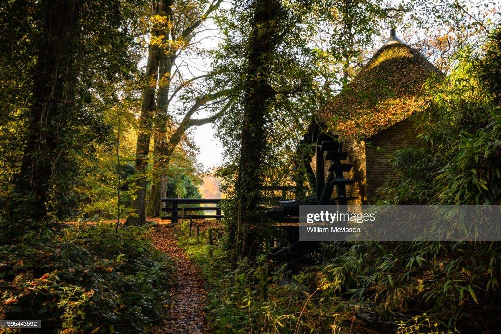 Watermill 'Rosmolen' : Foto de stock