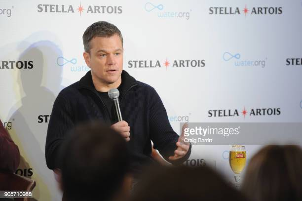 Waterorg cofounder Matt Damon joined Stella Artois to discuss how Americans can help end the global water crisis and make their Super Bowl party...