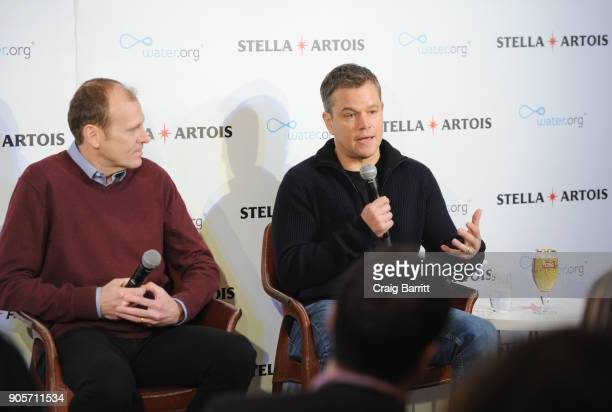 Waterorg cofounders Matt Damon and Gary White discuss how Americans can help end the global water crisis and make their Super Bowl party matter this...