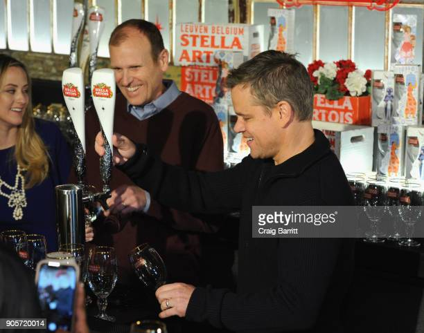 Waterorg cofounders Matt Damon and Gary White team with Stella Artois to encourage Americans to 'Make Your Super Bowl Party Matter' by stocking up on...