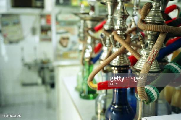 waterpipe shisha bar - hookah stock pictures, royalty-free photos & images