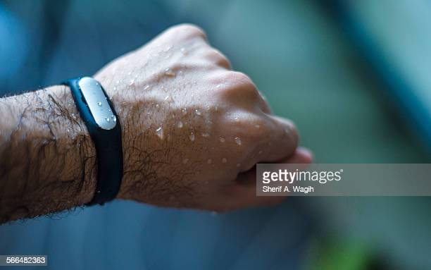 Waterproof activity tracker mi band