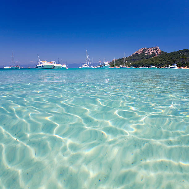 Waters off Notre Dame beach, Porquerolles, France
