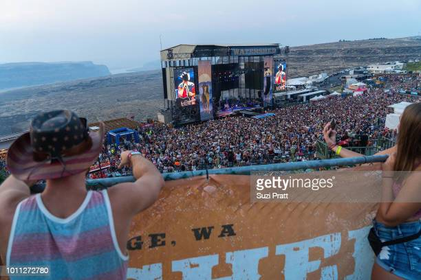Watershed Festival at Gorge Amphitheatre on August 4 2018 in George Washington