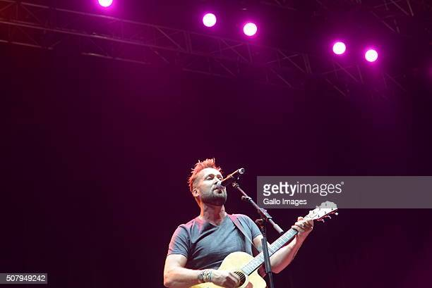 Watershed performs during the Roxette concert on January 31, 2016 at the Ticketpro Dome in Johannesburg, South Africa. Roxette is touring South...
