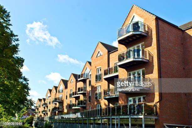 waterside apartments grantham - grantham lincolnshire stock photos and pictures