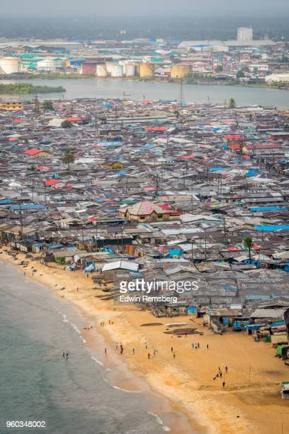 waterside - liberia stock pictures, royalty-free photos & images