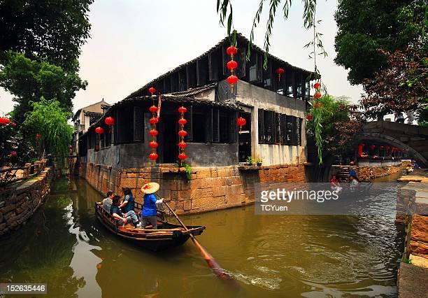 Waterside village in East China