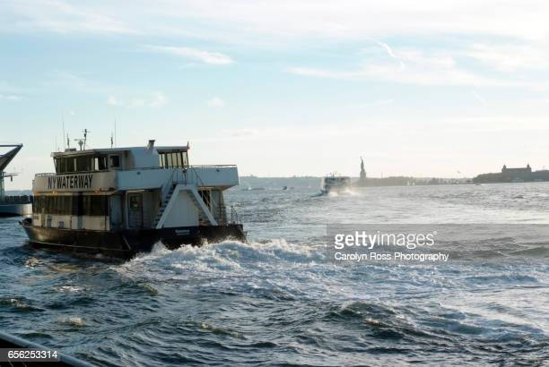 ny waterway ferry boat - carolyn ross stock pictures, royalty-free photos & images