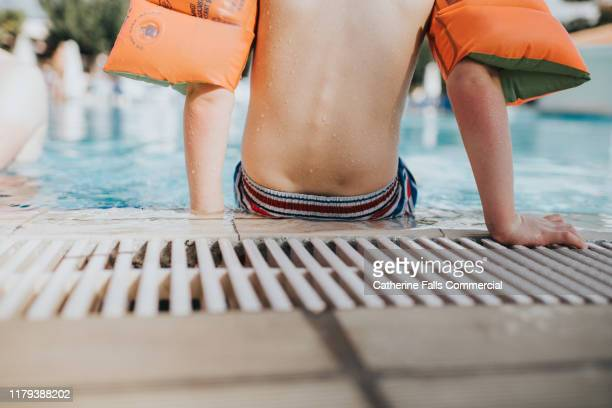 waterwings - arm band stock pictures, royalty-free photos & images