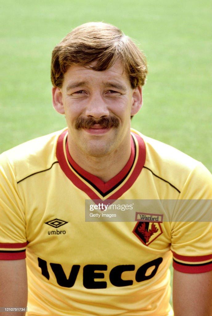 Steve Sims Watford FC 1983 : News Photo