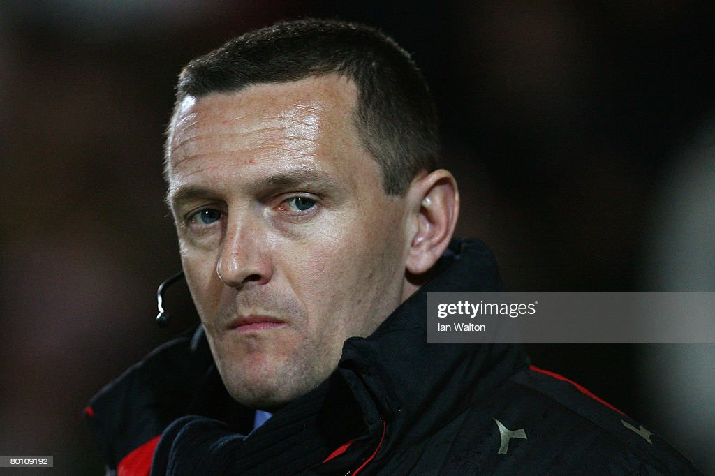 Watford manager Adrian Boothroyd looks on during the Coca Cola Championship match between Watford and Norwich City at Vicarage Road on March 04, 2008 in Watford, England.