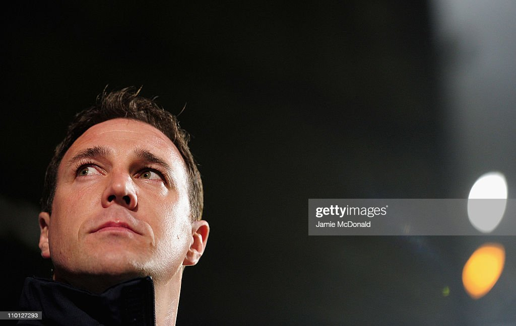 Watford manager, Malky MacKay looks on during the npower Championship match between Ipswich Town and Watford at Portman Road on March 15, 2011 in Ipswich, England.