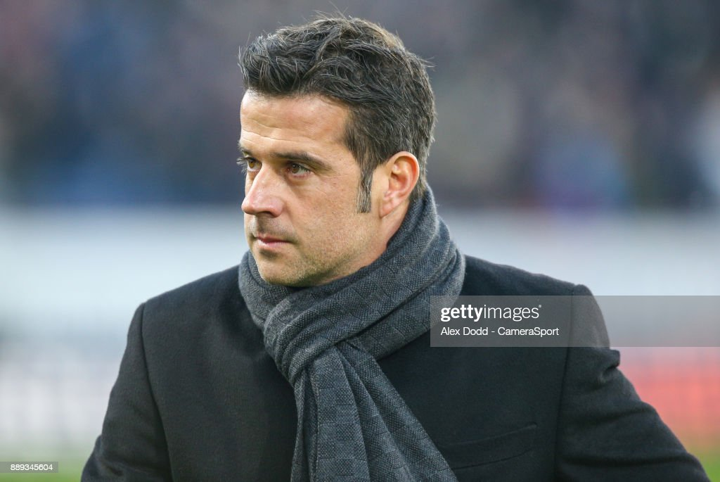 Watford manager Marco Silva during the Premier League match between Burnley and Watford at Turf Moor on December 9, 2017 in Burnley, England.