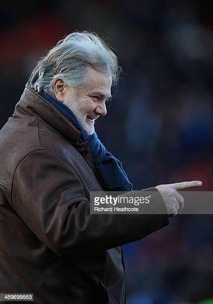 Watford technical director Gianluca Nani during the Sky Bet Championship match between Watford and Queens Park Rangers at Vicarage Road on December...