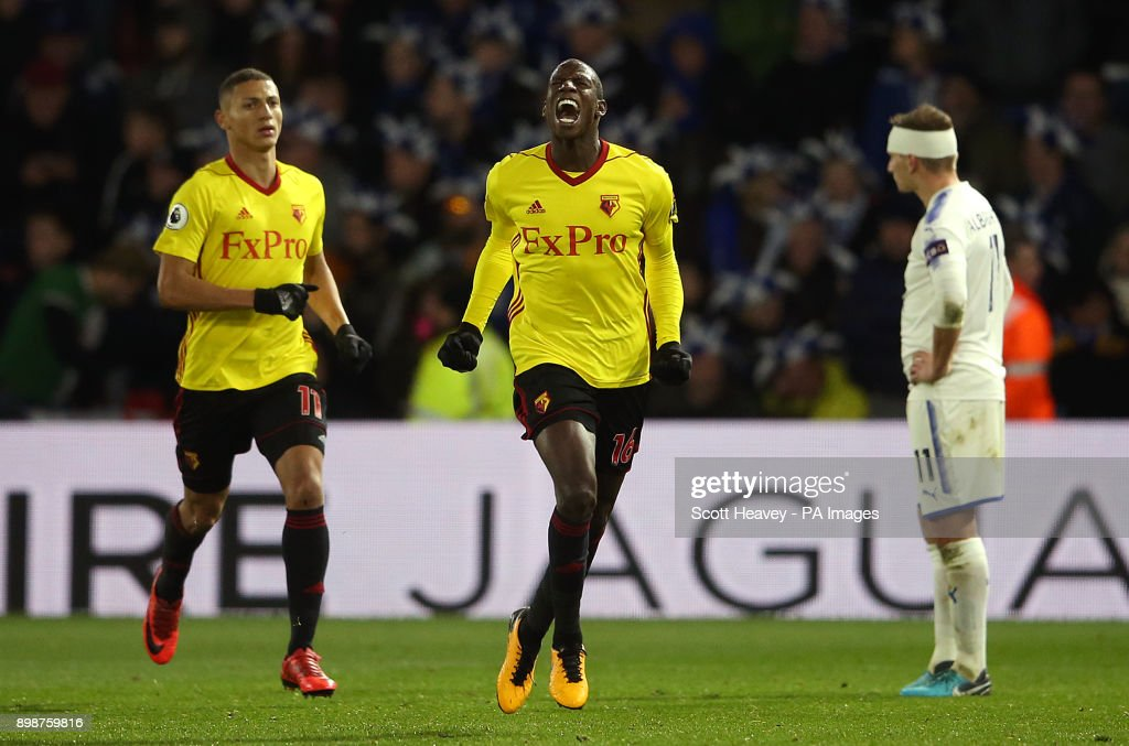 Watford v Leicester City - Premier League - Vicarage Road : News Photo