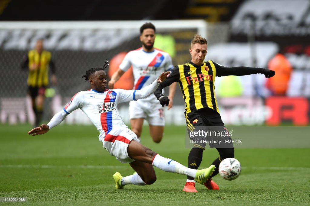 Watford v Crystal Palace - FA Cup - Quarter Final - Vicarage Road : News Photo