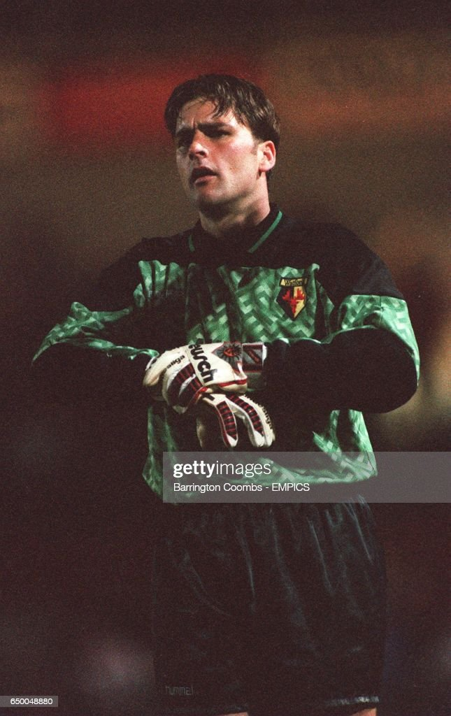 Watford's goalkeeper Kevin Miller