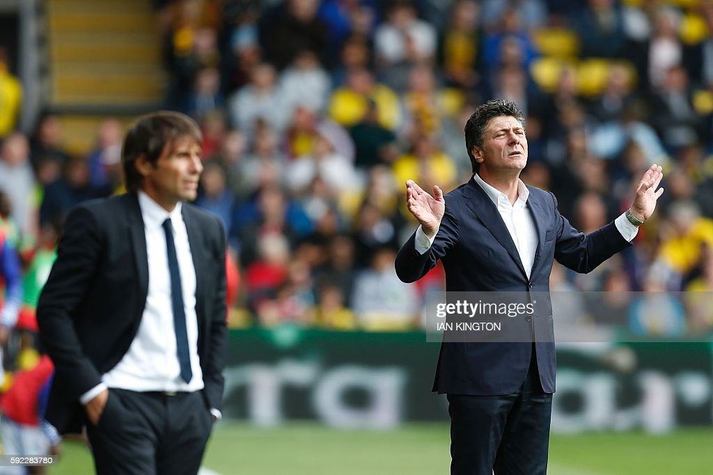 FBL-ENG-PR-WATFORD-CHELSEA : News Photo
