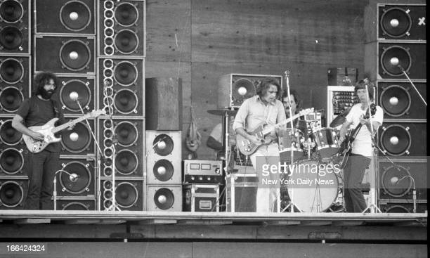 Watkins Glen Rock Festival Summer Jam at Watkins Glen NY with The Allman Brothers Band Grateful Dead and The Band performing 600000 rock buffs...