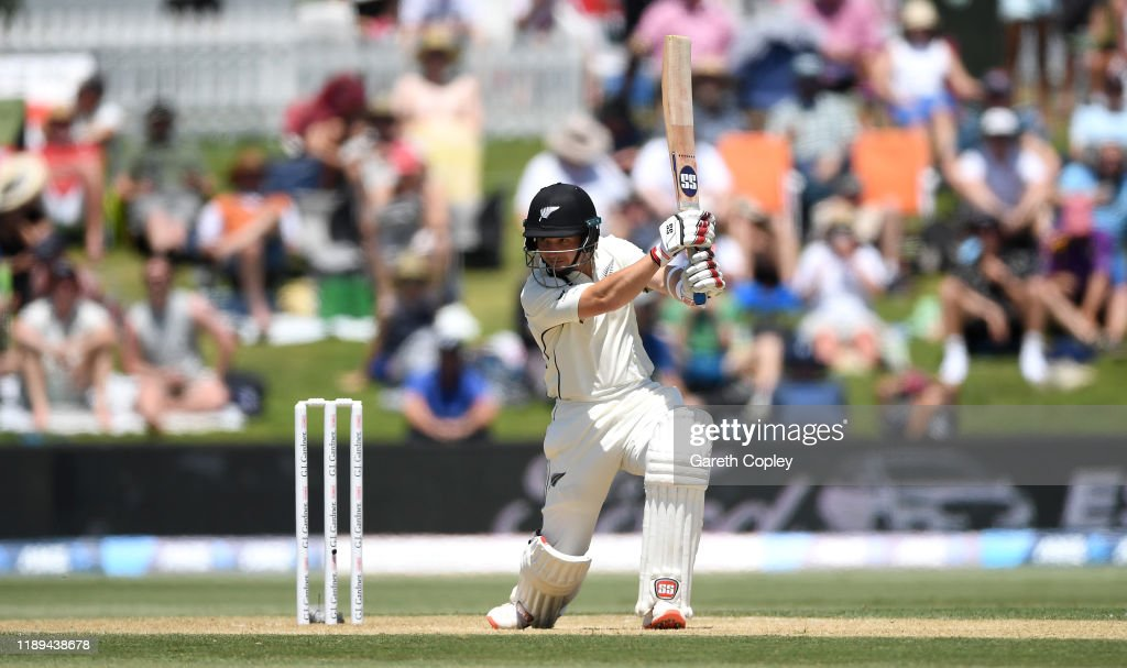 New Zealand v England - First Test: Day 3 : News Photo