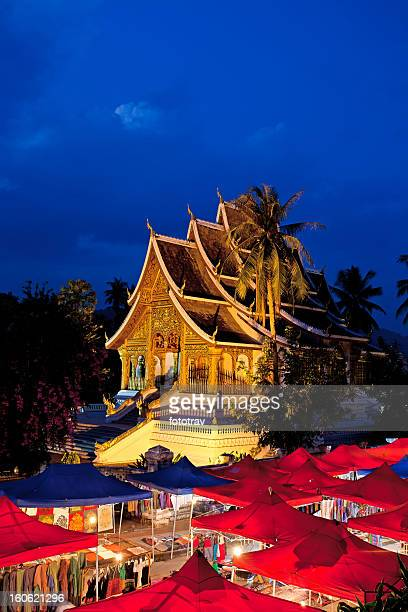 Watmai Suwannaphumaham in Luang Prabang, Laos