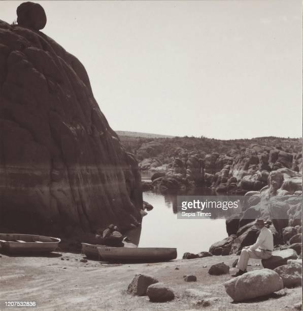 Watson Lake. At Granite Dells near Prescott, Arizona. Ejmer Ostlund , July 10 Gelatin silver print.