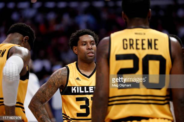 Watson of Killer 3s reacts during the BIG3 Championship game against the Triplets at Staples Center on September 01, 2019 in Los Angeles, California.