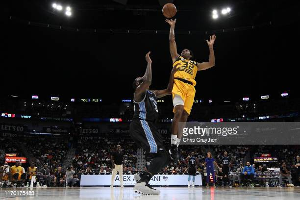 Watson of the Killer 3s makes a shot during the BIG3 Playoffs at Smoothie King Center on August 25, 2019 in New Orleans, Louisiana.