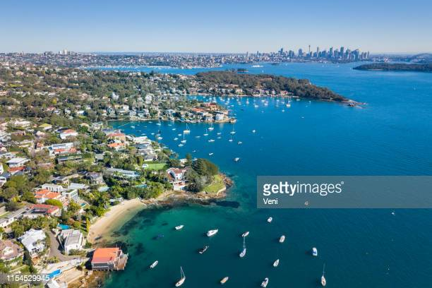 watsons bay, sydney, australia - real estate stock pictures, royalty-free photos & images