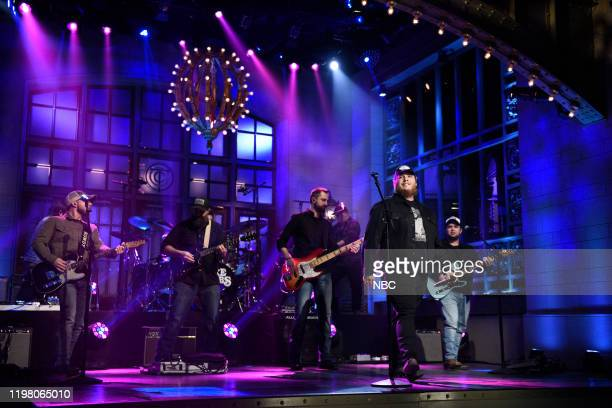 LIVE JJ Watt Episode 1779 Pictured Musical guest Luke Combs performs on Saturday February 1 2020