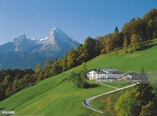 Watzmann and Maria Gern, Berchtesgaden, Bavaria, Germany
