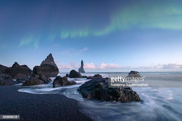 Wave and aurora