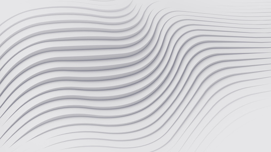 Wave band abstract background surface 3d rendering 921696186