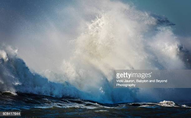 Wave Crashing after a Storm on Long Island