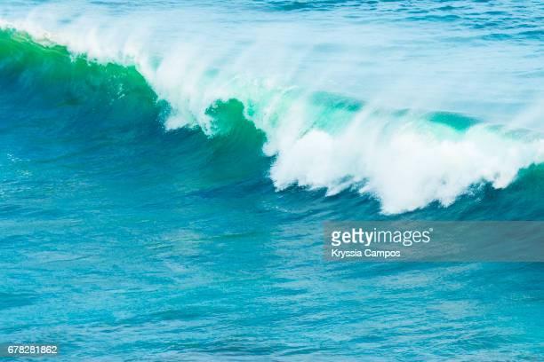 Wave crashing, Jaco, Costa Rica
