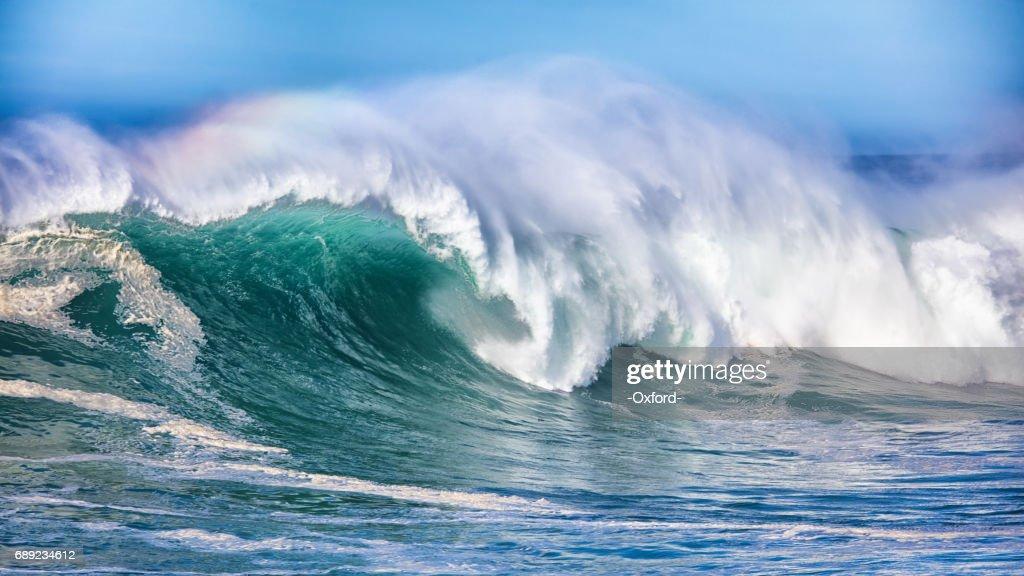 Wave in Pacific Ocean : Stock Photo