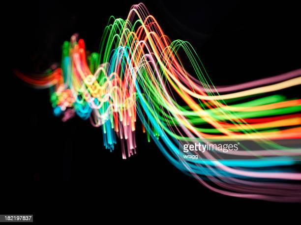 Wave of Coloured Lights
